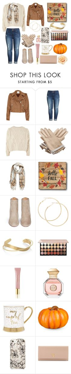 """""""Welcome Fall"""" by rsmoore6 ❤ liked on Polyvore featuring River Island, Melissa McCarthy Seven7, Topshop, Hermès, Aquazzura, AERIN, Tory Burch, Improvements, Vera Bradley and Prada"""