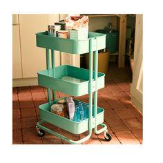 [ 人気商品]RASKOG キッチンワゴン, ターコイズ - IKEAの通販ならスマイラ | イケアの商品を通販代行最安価格で全国へ