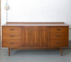 Mid Century Modern Broyhill Sculptra 9 Drawer by departmentChicago. , via Etsy. Want want want ❤❤❤❤❤❤❤
