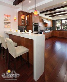 Cherry Flooring - Cognac Fossilized® Hardwood   Cali Bamboo - Cali Bamboo