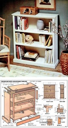 Build a Bookcase - Furniture Plans and Projects | WoodArchivist.com