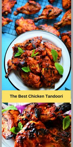 Chicken Tandoori in Oven. - - Learn how to make the best Tandoori Chicken in the oven. It has the best tandoor flavors without a clay tandoor oven and is soft, juicy and utterly delicious. Tandoori Chicken In Oven, Tandori Chicken, Pollo Tandoori, Indian Chicken Recipes, Easy Indian Recipes, Easy Chicken Recipes, Tandoori Chicken Recipe Indian, Indian Chicken Marinade, Chicken Marinate