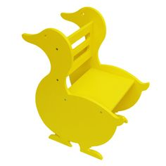 Dorcas the Duck Children's Wooden Chair by TheLittleArkDesign, £59.00