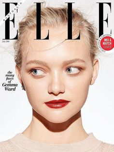 ELLE Australia Gemma Ward by Georges Antoni with... - Revorish.com