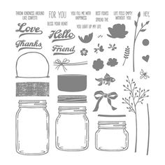 Jar of Love Photopolymer Stamp Set by Stampin' Up!