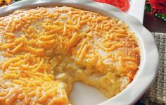 Cornbread chicken pie.  Going to make right now with left-over turkey!