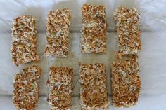 Granola & Granola Bars with Nuts + Dried Apricots