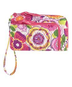 Love this Clementine Zip Zip Wristlet by Vera Bradley on #zulily! #zulilyfinds