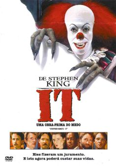 It (Unabridged) - Stephen King Stephen King It, Annette O'toole, Scary Movies, Great Movies, Vanity Fair, Richard Thomas, Pet Sematary, Hd Movies Download, Tommy Lee