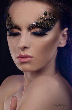 Makeup Jewlery Art - #makeupart #artisticmakeup #ewelinazych3386 - bellashoot.com & bellashoot iPhone & iPad app