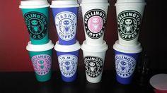 Skellington Coffee Mug - Thermal Plastic Reusable Travel Mug - Nightmare Before Christmas - Jack Skellington Coffee