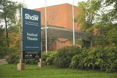 Shaw Festival, Festival Theatre, Niagara-on-the-Lake, Canada.  My favorite field trip in high school.