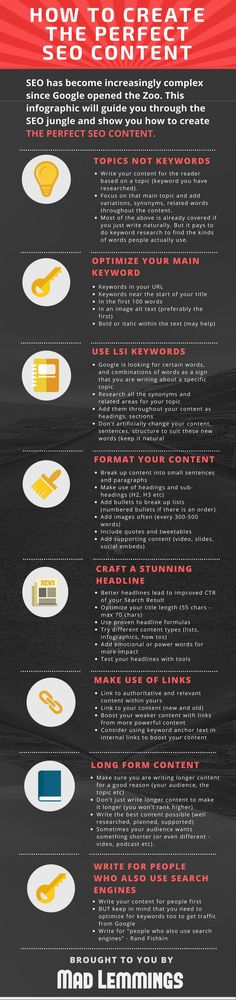 SEO Tips: How to Create Website Content That Ranks Well on Google [Infographic]
