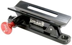 A fire extinguisher mount for quick access is essential! We like the Drake Off Road FIREX-MNT-DOR Fire Extinguisher Mount