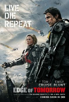 Stream Edge of Tomorrow 2014 online. Find out where Edge of Tomorrow is available to stream. A soldier fighting aliens gets to relive the same day over and over again, the day restarting every time he dies. Edge Of Tomorrow, Jonas Armstrong, Tom Cruise, Streaming Movies, Hd Movies, Movies Online, Films, Iconic Movies, Action Movies