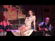Ruby Joule with Bustout Burlesque - New Orleans Live Jazz & Striptease  #burlesque #video
