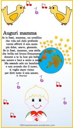 Biglietto per la festa della mamma – Maestramaria Babysitting, Diy And Crafts, Snoopy, Creative, Kids, Estate, Terra, Mom, Fantasy