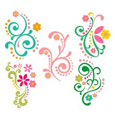 Flourish Flowers Cuttable Design Cut File. Vector, Clipart, Digital Scrapbooking Download, Available in JPEG, PDF, EPS, DXF and SVG. Works with Cricut, Design Space, Sure Cuts A Lot, Make the Cut!, Inkscape, CorelDraw, Adobe Illustrator, Silhouette Cameo, Brother ScanNCut and other compatible software.