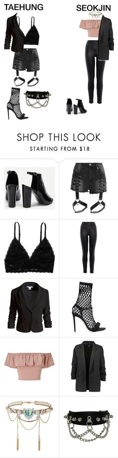 """Kiss my neck and call me baby"" by amandalayouni ❤ liked on Polyvore featuring Liquor n Poker, Monki, Karen Millen, Sans Souci, Marco de Vincenzo and Miss Selfridge"