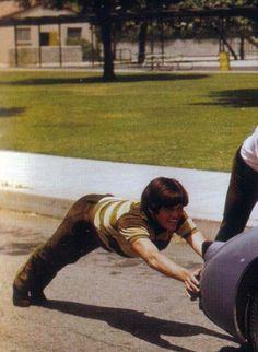 The Monkees.Micky playing around! Mickey Dolenz, Michael Nesmith, Peter Tork, Horsemen Of The Apocalypse, James Cagney, Radio Personality, Pop Rock Bands, Davy Jones, The Monkees