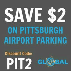 PIT Pittsburgh Airport Parking Coupon