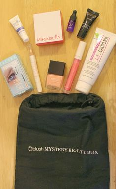 One of the best beauty boxes out there @blush Blush Mystery Beauty Box!
