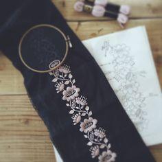 ながーいモノを作っています#刺繍 #embroidery by yumikohiguchi