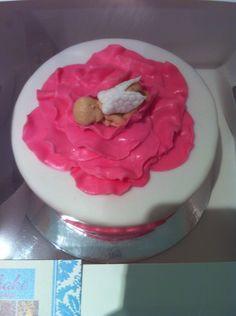 Baby angel cake