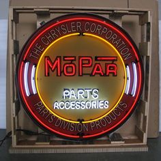 Neon Sign in Metal Can - Mopar 36 Inch – Oldies of Usa Partners