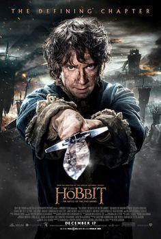 Bilbo está pronto para a guerra em novo cartaz de O Hobbit: A Batalha dos Cinco Exércitos - Notícias de cinema - AdoroCinema