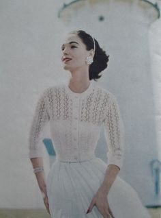 Vogue Knitting Book 1957 No. 50 Vintage от sewmuchfrippery