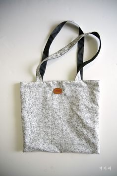 How to make Eco Fabric Shopping Bag. Step by Step Tutorial. Very easy sewing project