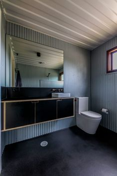 Shipping Container Home Intended for Manageable Family Living - Australia - Living in a Container Shipping Container Home Designs, Cargo Container Homes, Building A Container Home, Container House Design, Container Cabin, Container Store, Small Space Design, Dome House, Earth Homes