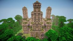 Temple Bahamuth Minecraft World Save