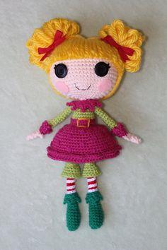 LALALOOPSY Holly Sleighbells Amigurumi Doll by Npantz22.deviantart.com on @deviantART