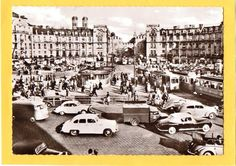 Karlsplatz/Stachus, postcard 1967