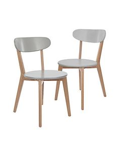 2 Bradshaw Chairs - Self Assembly | M&S