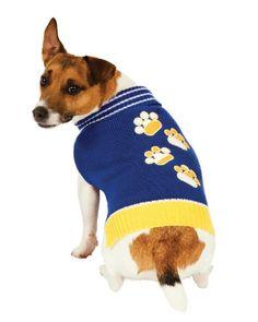 $13.95-$19.05 Fashion Pet Blue Pawz Dog Sweater Medium - Turtleneck style for extra warmth, 100% acrylic http://www.amazon.com/dp/B003V6Z1MM/?tag=pin2pet-20