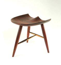The Cruz Stool - Made by Goebel & Co. Furniture