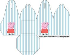 Peppa Pig: Free Printable Party Boxes.