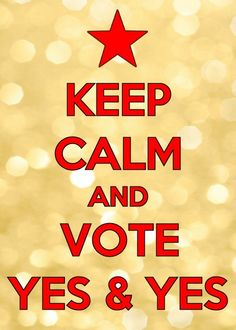 Keep Calm and Vote Yes & Yes! Freedom for Catalonia //*//   #Catalonia, #Europe.