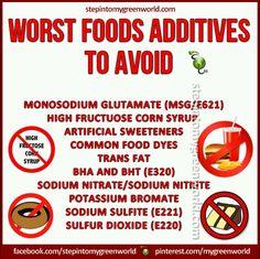 Worst Food Additives