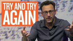 Choose Falling Over Failure Simon Sinek In 2020 Inspirational Videos Cool Words Failure