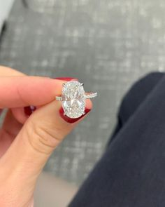 Our impressive custom handmade moissanite wedding ring set, from Camellia Jewelry, will take her breath away. Custom handcrafted in the finest details, this unique engagement ring set features a carat round cu Oval Engagement, Dream Engagement Rings, Classic Engagement Rings, Engagement Ring Settings, Most Beautiful Engagement Rings, Diamond Wedding Rings, Bridal Rings, Wedding Bands, Rose Wedding