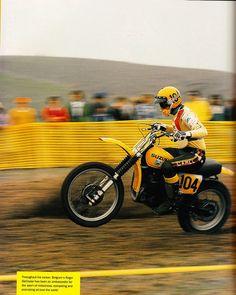 Moto X legend Roger De Coster