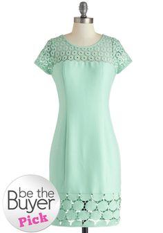 Water Feature Presentation Dress, #ModCloth    Bridal shower dress :)