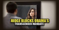 """Obama is going out with a bang, but not for the right reasons. He's going """"scorched earth"""" on foreign policy and attempting to tie Trump's hands. So much for that """"smooth transition of power."""" Obama knows his legacy is about to be destroyed with the stroke of a pen. In the meantime, he's getting more bad news regarding his transgender agenda. From Washington Examiner: A Texas judge has temporarily blocked the Obama administration's new requirements for transgender care, granting a…"""