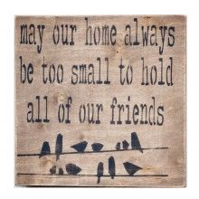 """""""May Our Home Be"""" Wall Decor"""