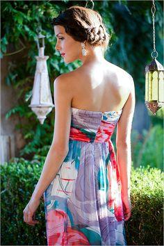Bridesmaid dresses perfect for any season. http://www.weddingchicks.com/2015/02/17/bridesmaid-dresses-by-donna-morgan/