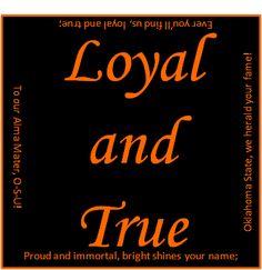 Loyal and True; OSU!